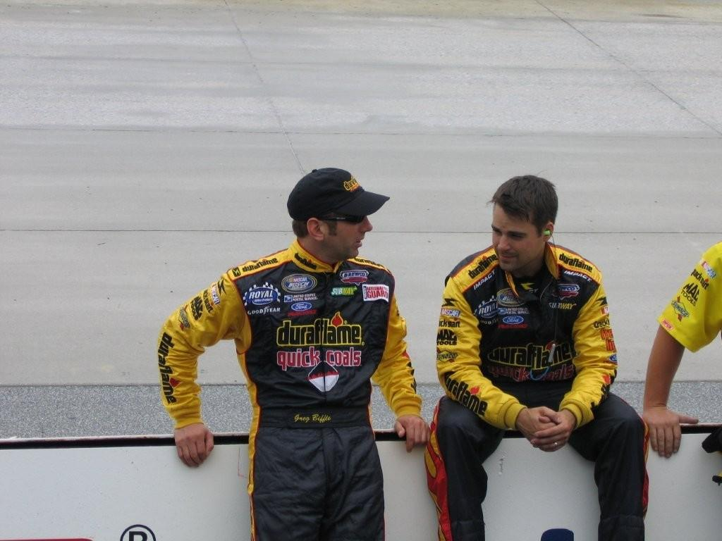 Jeff with Greg Biffle