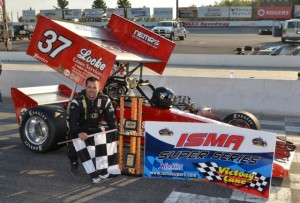 ISMA win No. 2 for New Hampshire's Jeff Locke in Ontario, Canada Sunday at Sunset