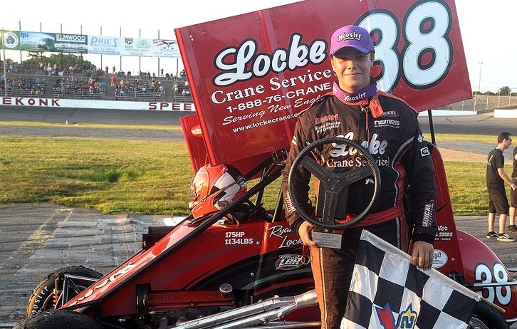 Stoehr, Locke Shine in NEMA's  Boston Louie at Seekonk