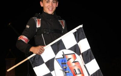 Chase Locke and Randy Cabral Best in NEMA at LEE USA's First Responder Freedom 300 Night